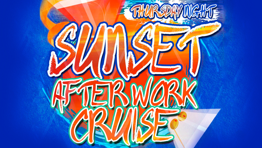 After Work Happy Hour Cruises With Bar and Live DJ $12.00 ($25 value)