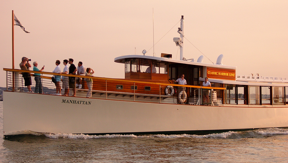Romantic NYC Champagne Sunset Cruise on the Yacht Manhattan $34.80 - $39.60 ($58 value)