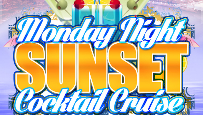 Monday Night Sunset Cocktail Cruise: Tour Lake Michigan on a Yacht $12.00 ($25 value)