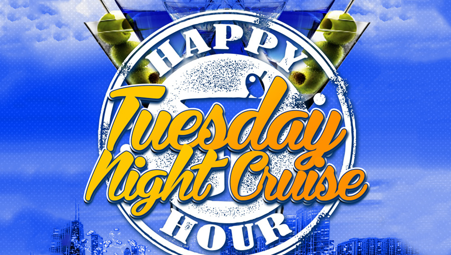 Unwind With a Tuesday Night Happy Hour Cruise on Lake Michigan $15.00 ($30 value)