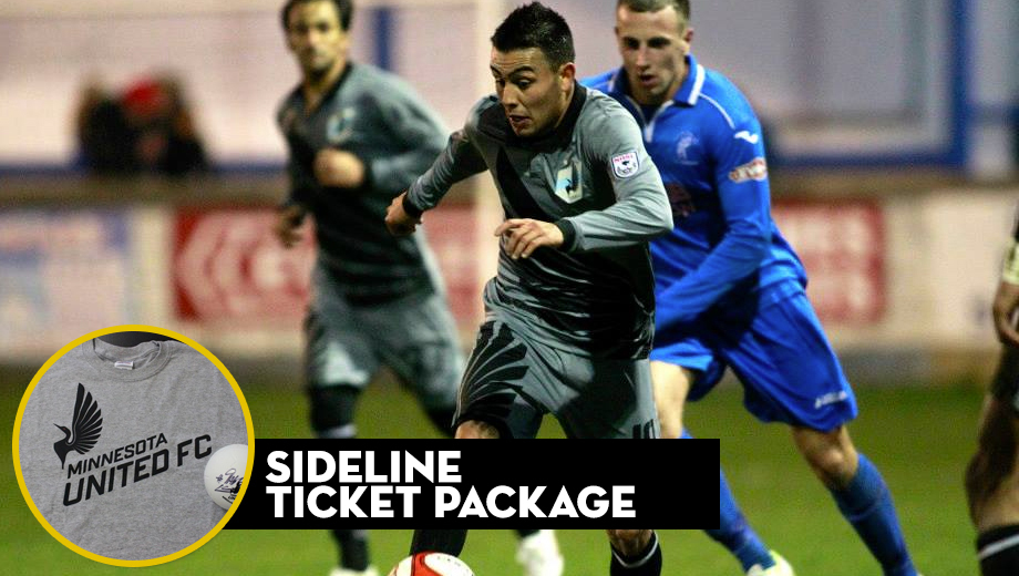 Minnesota United FC Soccer: Get Up Close and Personal With Sideline Tickets $25.00 ($55 value)