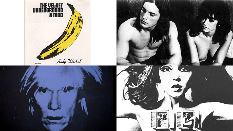 Warhol, Velvets and Paul Morrissey in the