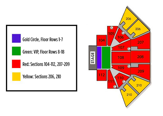 The liacouras center philadelphia tickets schedule seating