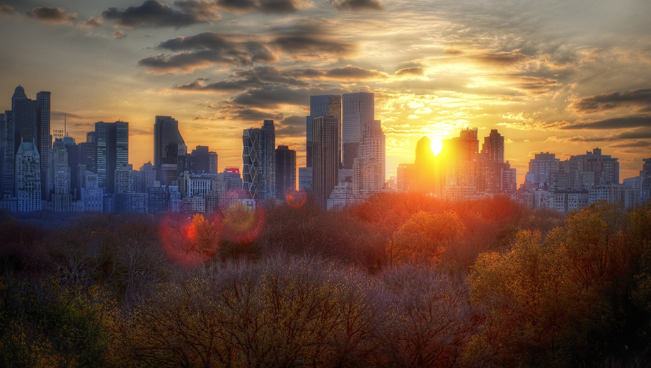 Central Park Guided Sunset Tour