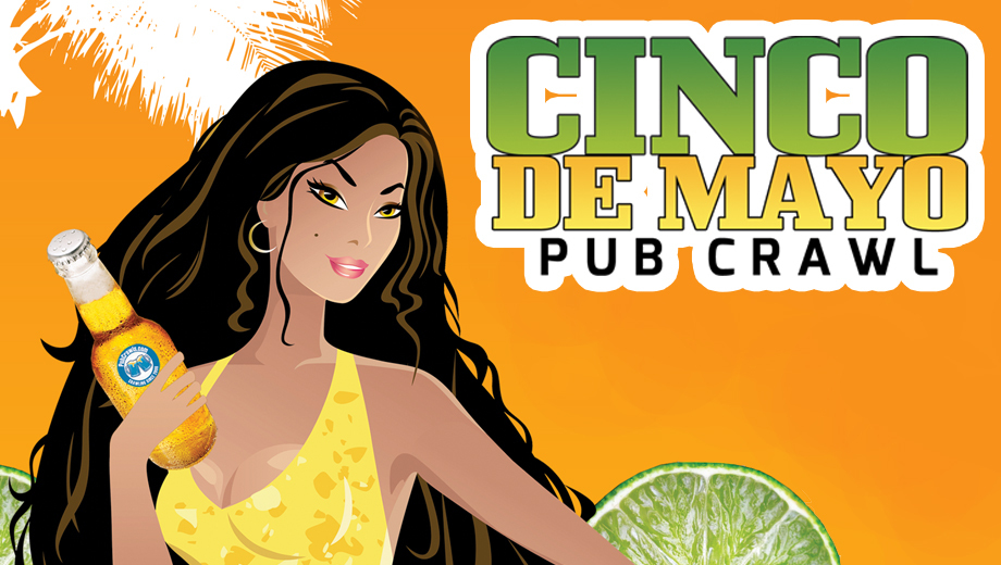 Hit the San Diego Gaslamp Quarter for a Cinco de Mayo Pub Crawl COMP - $6.00 ($10 value)