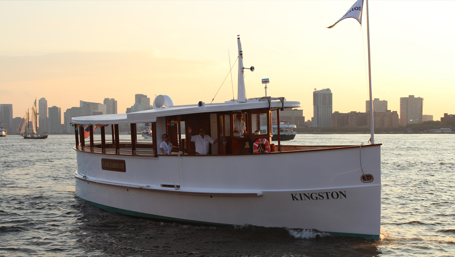 NYC Cocktail Cruise Aboard the Yacht Kingston $45.60 ($76 value)