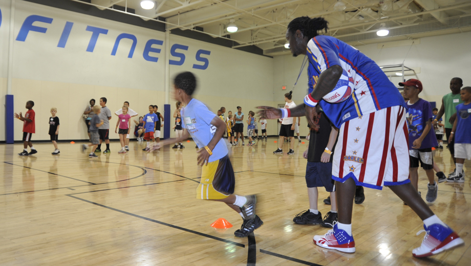 Harlem Globetrotters Basketball Clinic, Plus Game Vouchers $54.00 ($109 value)