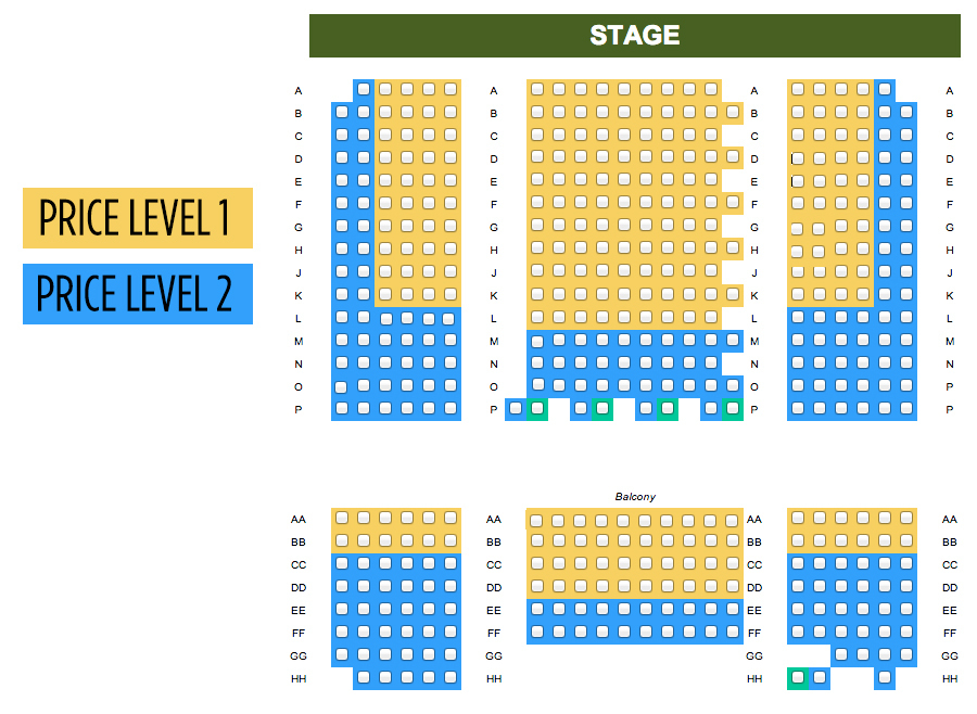 Montgomery Theater, San Jose: Tickets, Schedule, Seating Charts ...
