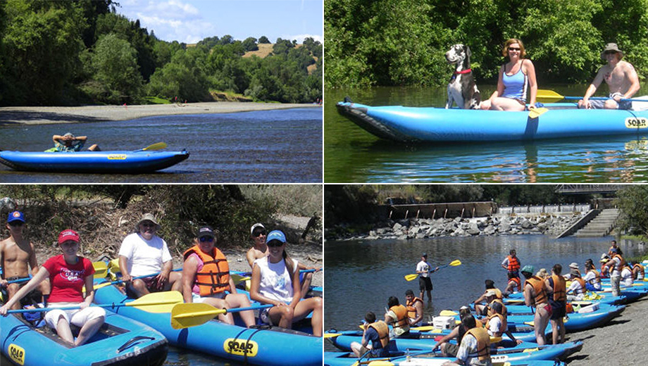 Russian River Adventures: Paddle-Canoe Rafting Trip With Your Dog $5.00 - $25.00 ($10 value)
