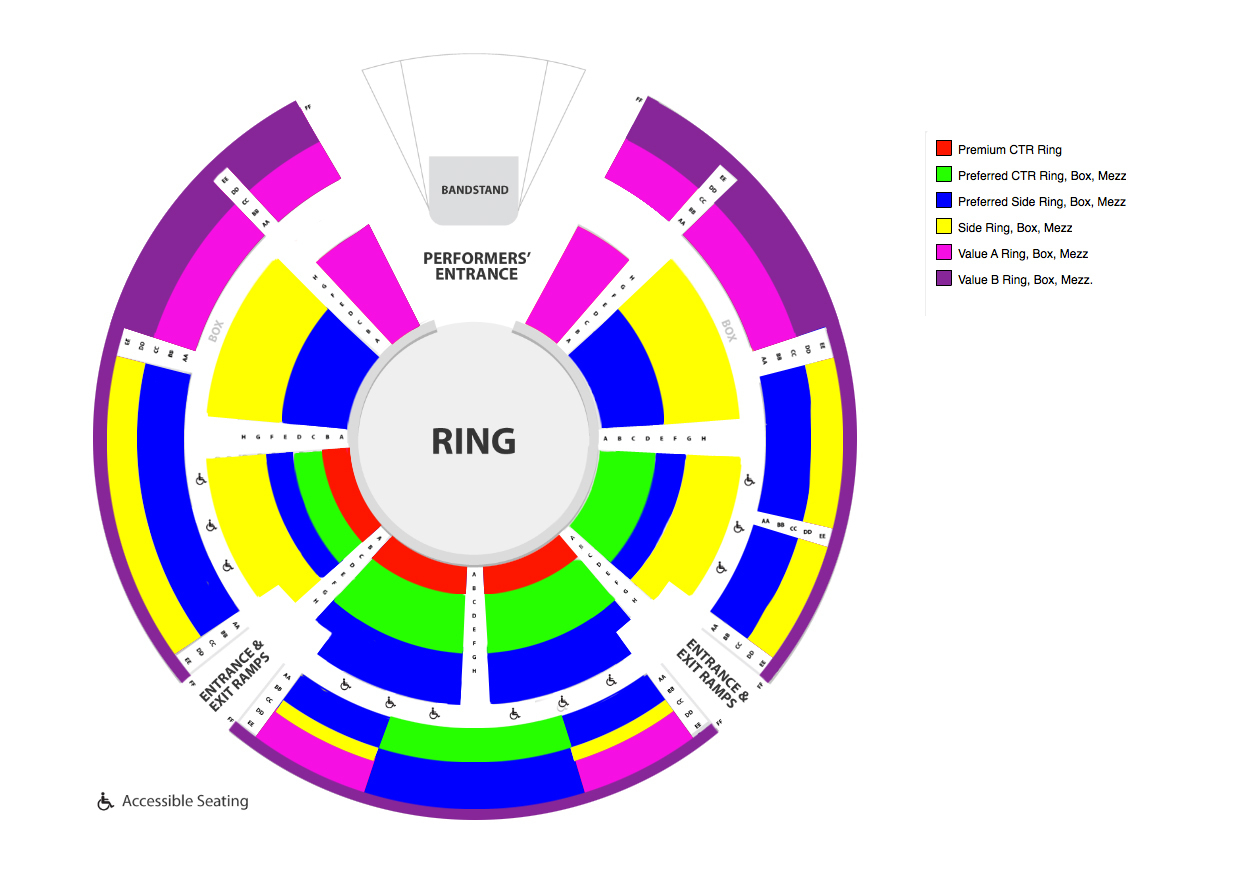 Cunningham park new york tickets schedule seating charts