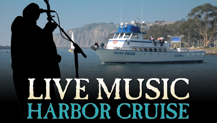 Dana Wharf's Live Music Harbor Cruise Rocks the Boat $10 ($22 value)