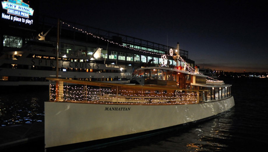 Champagne City Lights Cruise: See Manhattan From a 1920s-Style Yacht $34.80 - $39.60 ($58 value)
