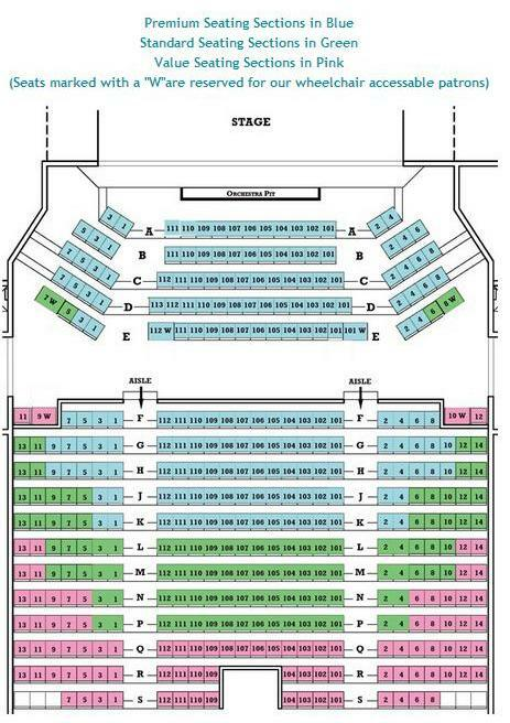 Ocean state theatre providence tickets schedule seating charts