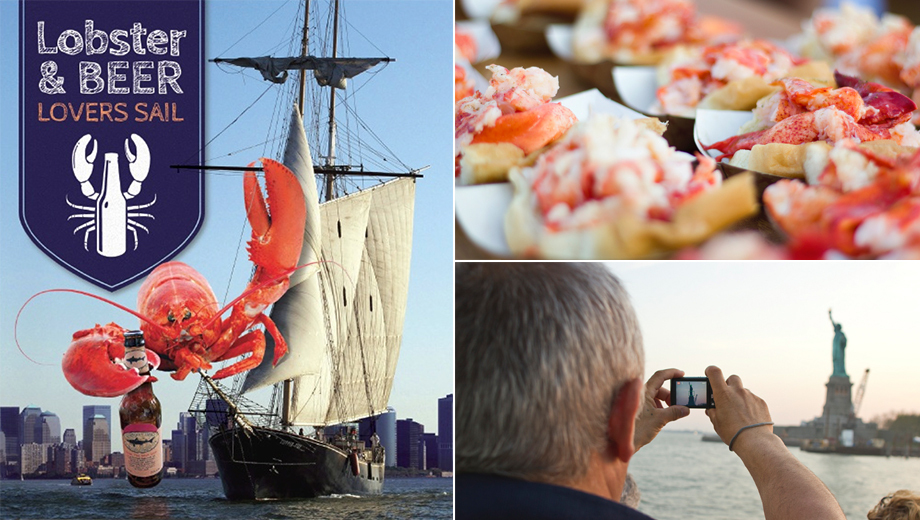 Lobster & Beer Lovers Sail Aboard the Clipper City Tall Ship