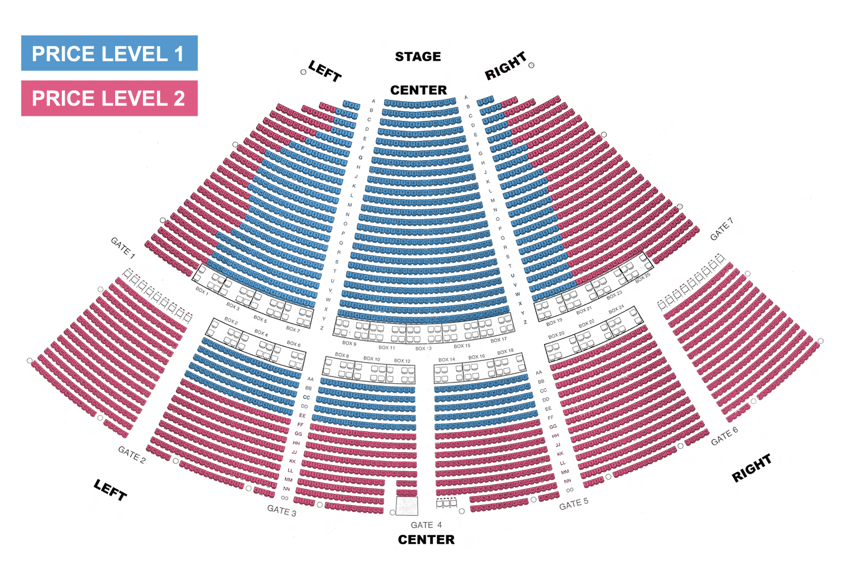 Ravinia pavilion chicago tickets schedule seating charts goldstar
