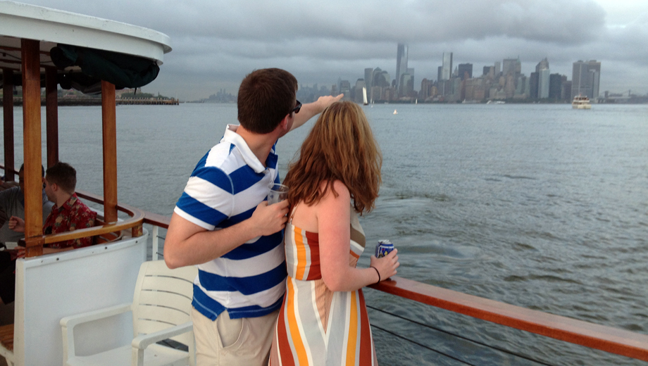 Skyline Day Cruise From Hoboken on Mini-Yacht Beacon $19.20 ($32 value)