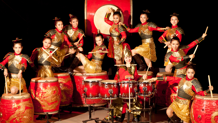 Kung Fu & Drumming: China's All-Female Group Reinterprets