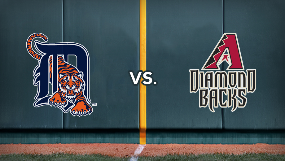 AL Powerhouse Tigers Against the Hometown Diamondbacks $8.00 - $26.00 ($16 value)