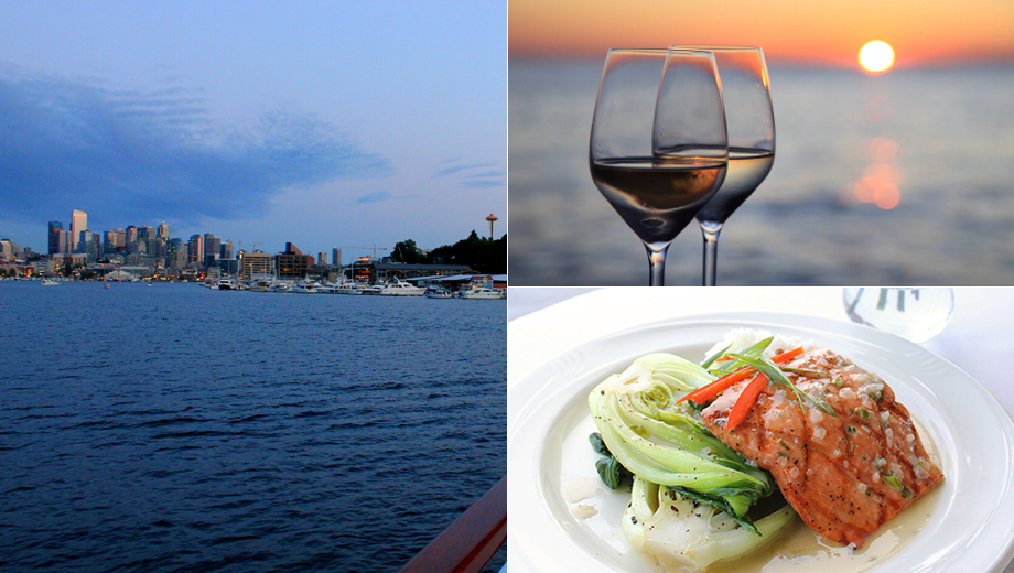 Sunset Dinner Cruise: 4-Course Dinner, Music & Views $54.00 ($91.32 value)