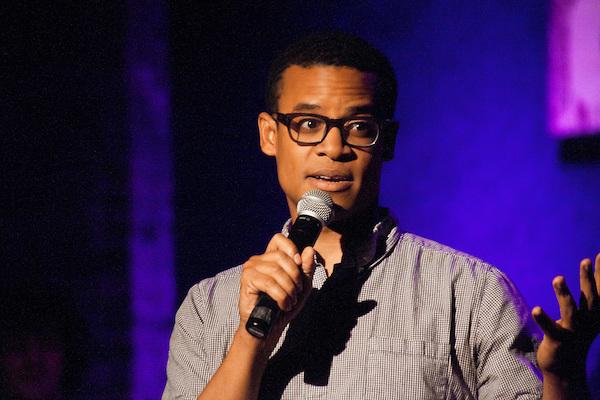 Comedian Jordan Carlos (