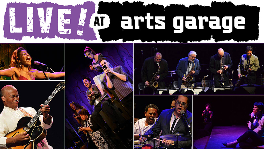Live Music at Arts Garage: Jazz, Latin, Hip-Hop & More $17.50 ($35 value)