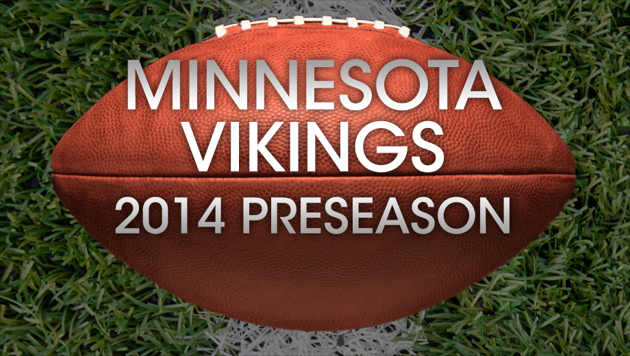 Minnesota Vikings Preseason Football Vs. Raiders & Cardinals $9.00 ($42 value)