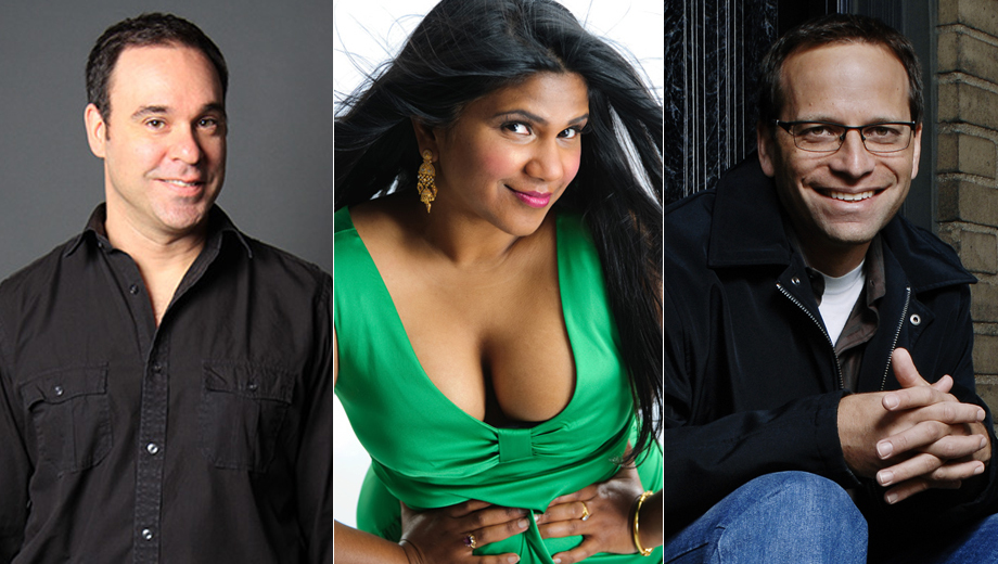 Stand-Up Comics Lenny Marcus, Andy Pitz & Vijai Nathan $12.00 ($50 value)