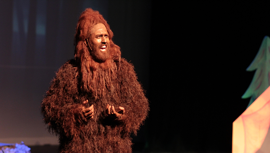 Bigfoot Is Real -- And He Can Sing! -- in Family Musical