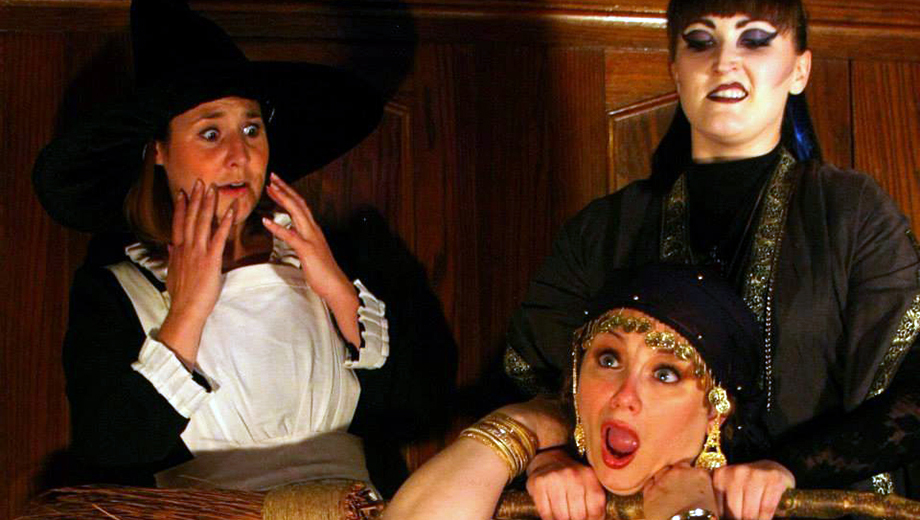 Witch Hunts, Stage Combat and Mass Hysteria in New Comedy