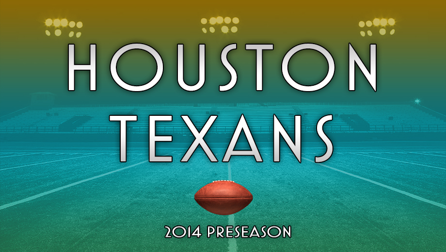 See the Houston Texans in NFL Preseason Action $22.50 - $27.00 ($45 value)
