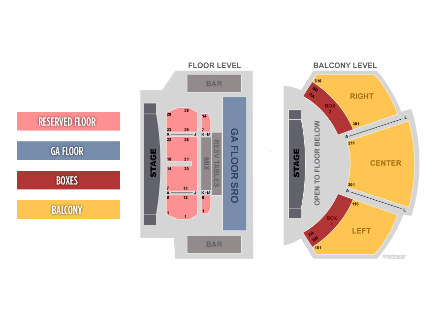 Floor Plan House Of Blues Boston And Home Design