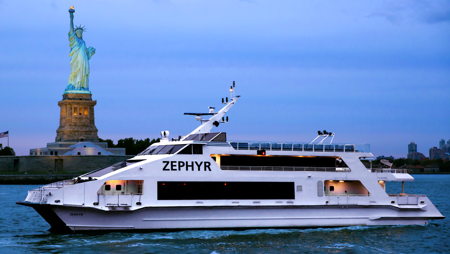 Statue of Liberty Tour on the Beautiful Ship Zephyr $15.00 ($30 value)