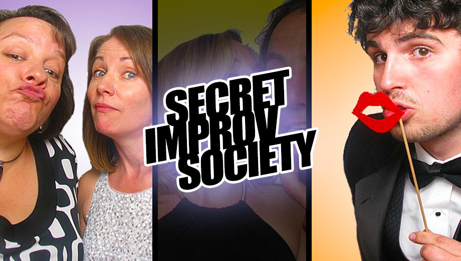 Secret Improv Society: Comedy & Song in High-Energy Revue COMP - $8.50 ($17 value)
