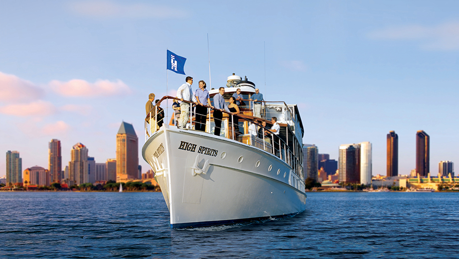 Sights & Sips Sunset Cruise: Happy Hour on San Diego Bay $26.50 ($42 value)