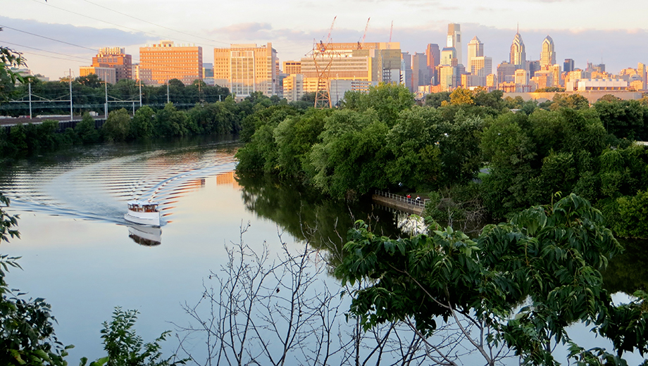 Explore Philadelphia's History on Relaxing Cruise Down Schuylkill River $15.00 ($25 value)