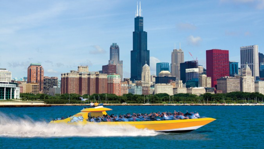 Thrilling Seadog Speedboat Tour of Chicago's Scenic Lakefront $18.76 - $25.72 ($31.26 value)