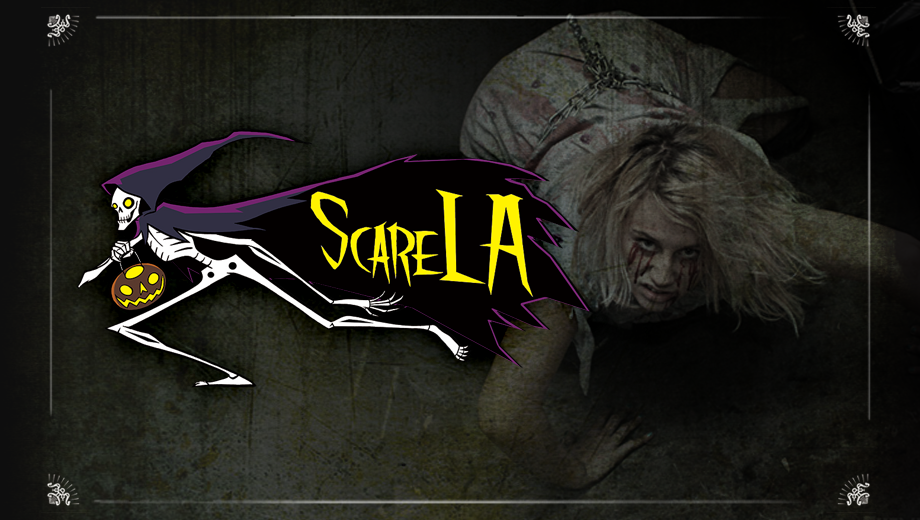 Halloween Convention: Interactive, Spooky Fun at ScareLA COMP - $15.00 ($25 value)