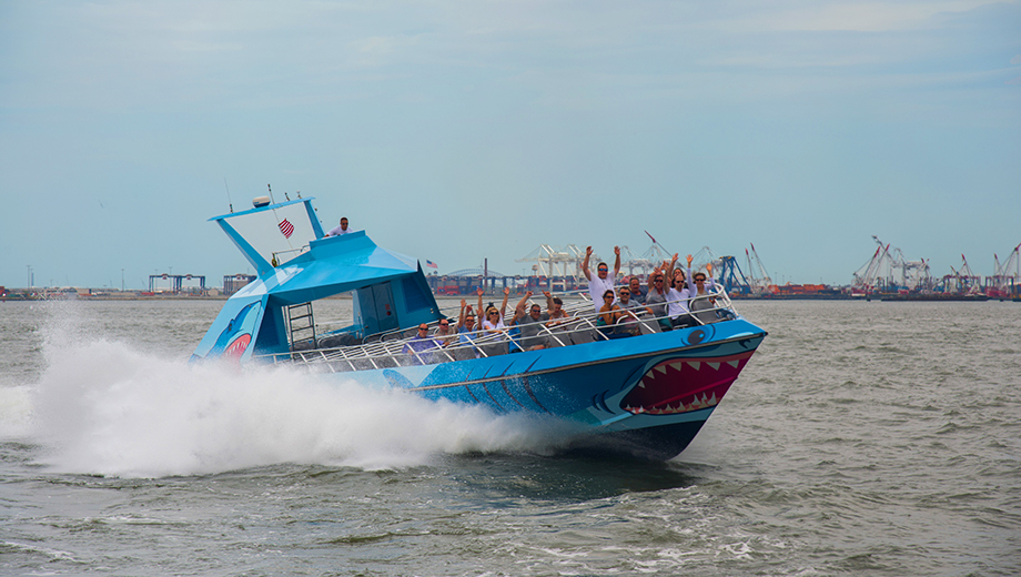 Shark Speedboat Thrill Ride of New York Harbor $11.00 ($28 value)