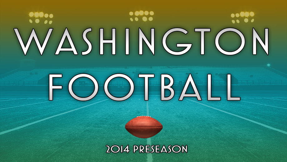 Washington 2014 NFL Preseason Games $15.00 - $29.50 ($92.4 value)