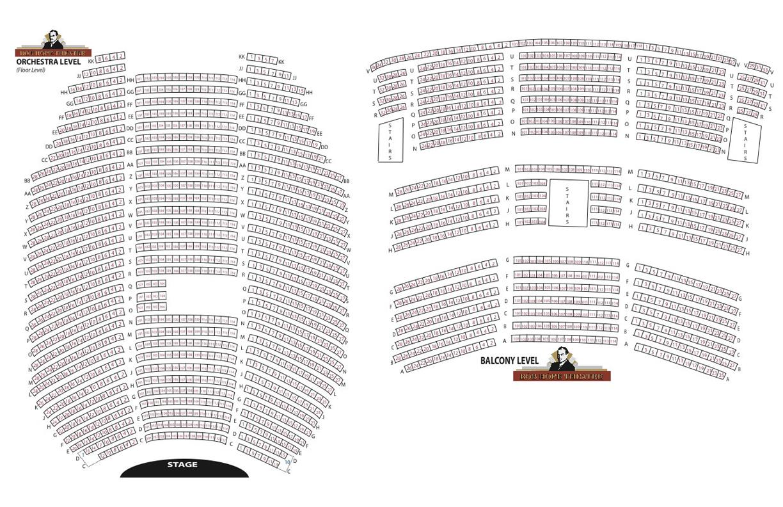 Bob hope theatre sacramento tickets schedule seating charts