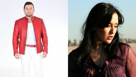 Roberto Tapia and Irene Davi