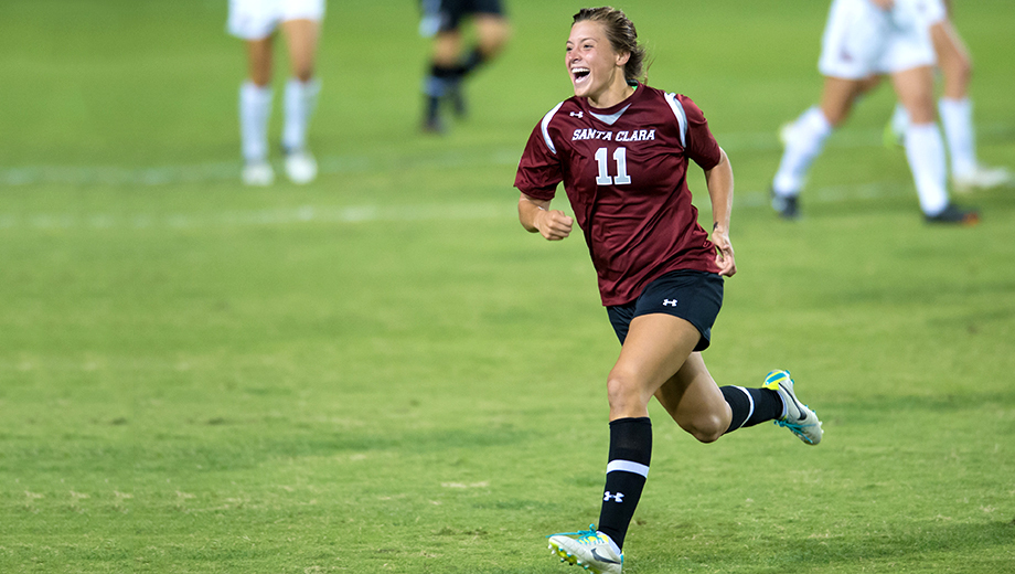 Santa Clara University NCAA Women's Soccer COMP ($8 value)