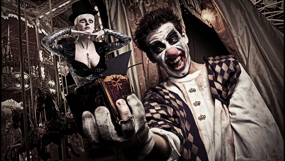 Halloween Circus Show and Dance Party: