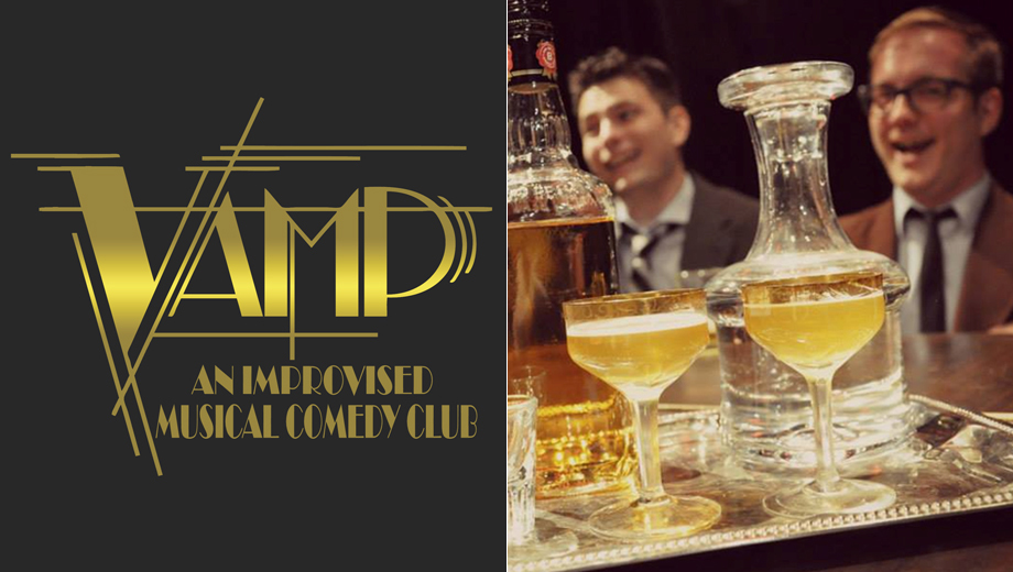 VAMP Club: Improv Musical Comedy Features Fresh Jokes, On-the-Fly Tunes $5.00 ($10 value)
