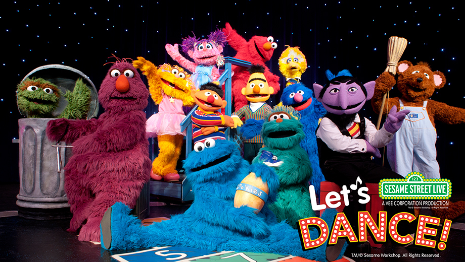 Get Down With Elmo and Friends at Sesame Street Live