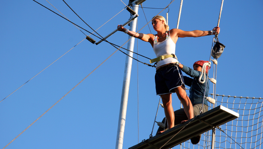Float Through the Air With a 2-Hour Flying Trapeze Lesson $37.50 ($75 value)