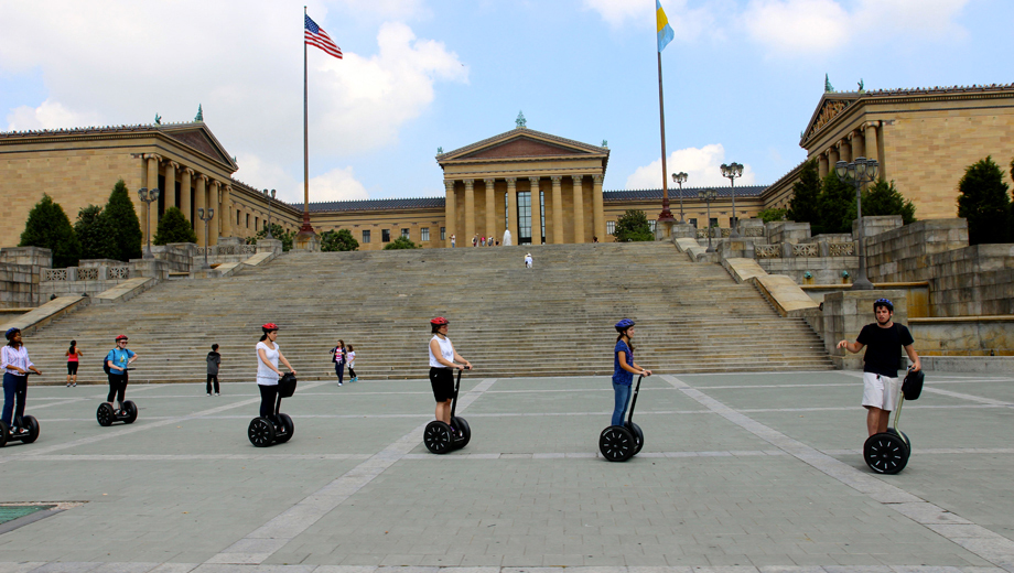 Explore All of Philadelphia's Major Sights on a Segway $45.00 - $50.00 ($90 value)