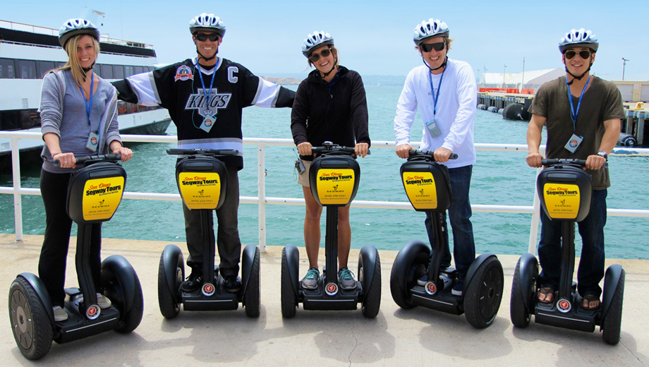 Ride a Segway Through Downtown San Diego's Waterfront & Gaslamp Areas $54.50 - $59.50 ($109 value)