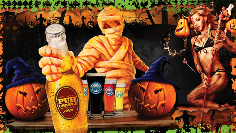 Halloween Weekend Pub Crawl With New York City's Best Bars $5.00 ($10 value)