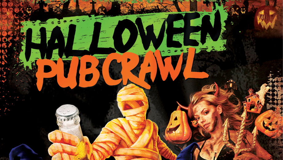 Hit Hot D.C. Haunts During the Annual Halloween PubCrawl $5.00 ($10 value)